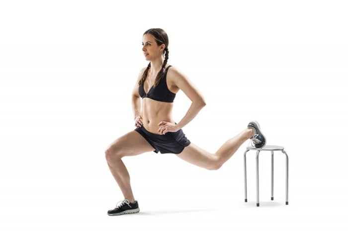 Karina Inkster during a workout